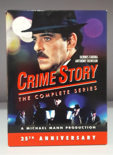 crime story boxset serie completa importada dvd