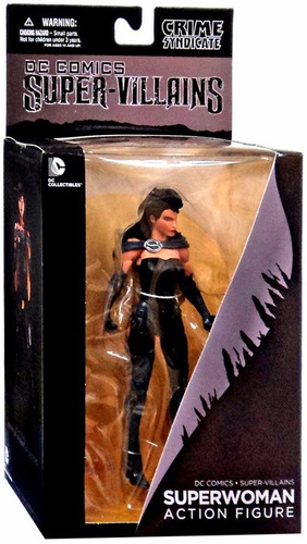 crime syndicate superwoman - action figure - dc collectibles