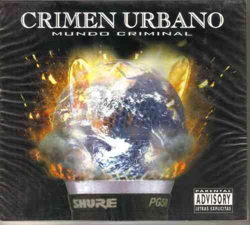 crimen urbano - mundo criminal ( hip hop rap mexicano ) cd
