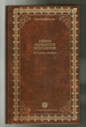 crimen y castigo - dostoievski - traduccion cansinos assens