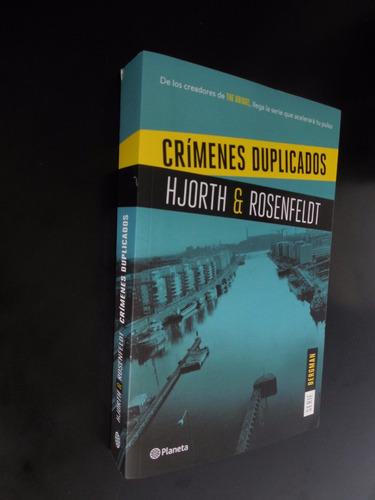 crimenes duplicados hjorth rosenfeldt