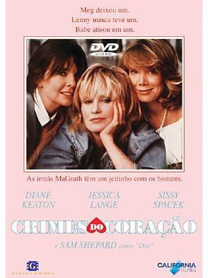 crimes do coração - dvd lacrado