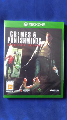 crimes & punishments: sherlock holmes - xbox one - lacrado