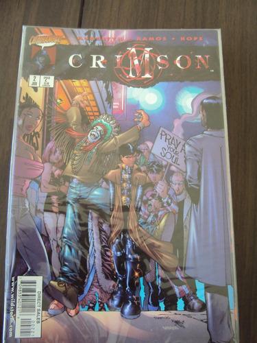 crimson # 02 - cliffhanger - importada