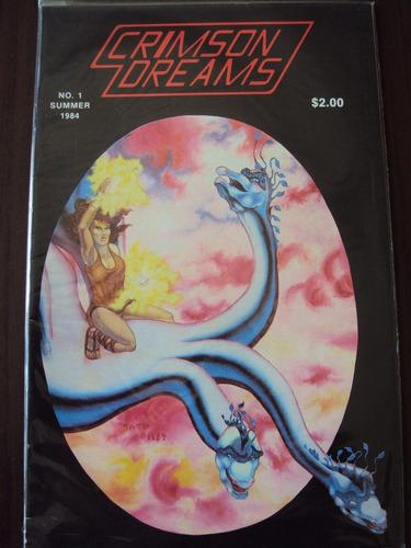 crimson dreams # 01 - summer 1984 - importada