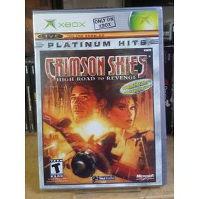 Crimson Skies [platinum Hits] Para Xbox Clasico (sellado)