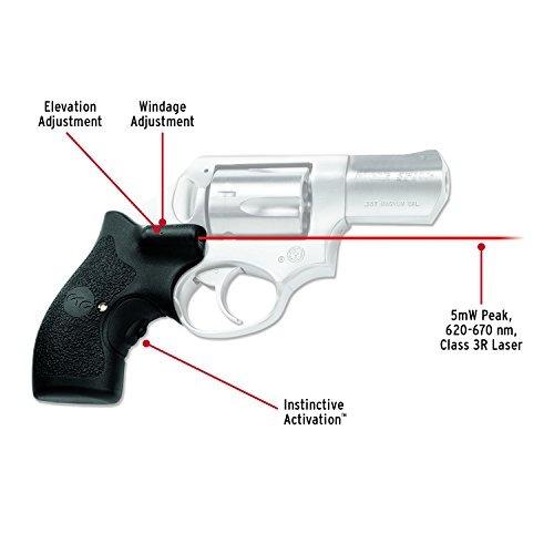 crimson trace lg-111 lasergrips red laser sight puños para