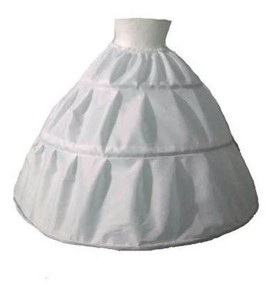 crinolina de  2 aros flexible para xv años boda vestidos