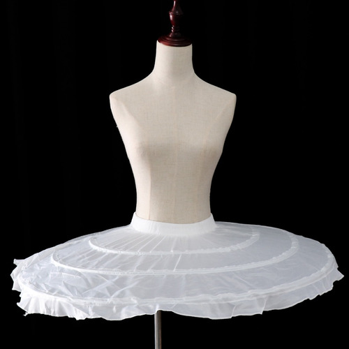 crinolina de falda cinturón ajustable enagua soporte de