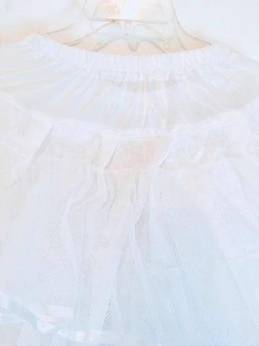 crinolina española de pellón para primera comunión niñas
