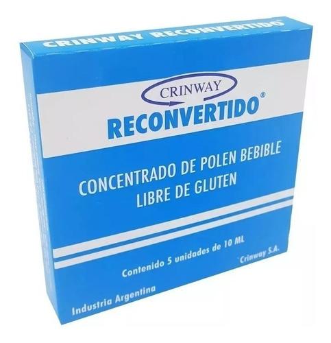 crinway polen reconvertido 5 cajas de 5 unidades de 5ml