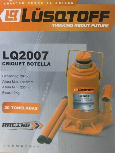 crique botella hidraulico gato 20 toneladas lusqtoff 20 ton