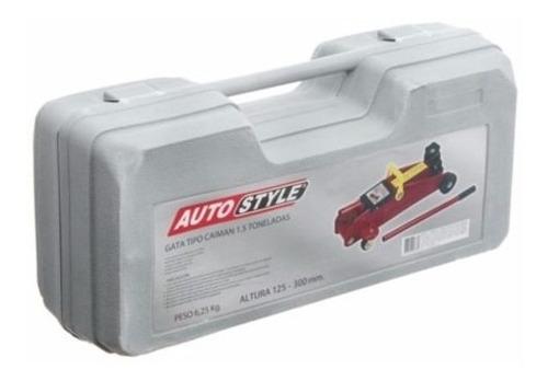 crique carrito gato hidraulico + maletin unico metal premium