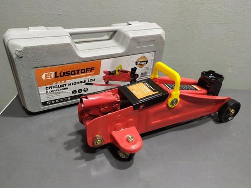 crique carrito hidraulico 2 toneladas lqc2 lusqtoff gato 2tn