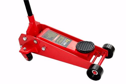 crique carro hidraulico chato 3.5ton taller mecanico