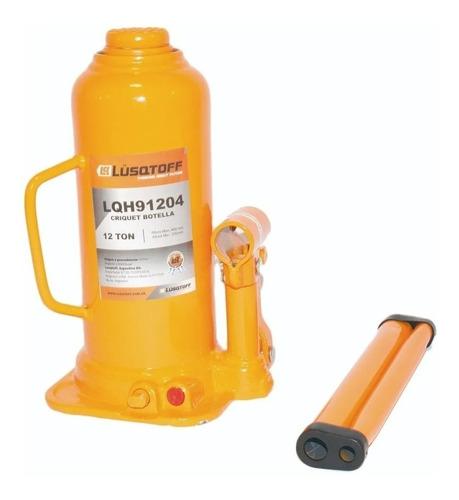 crique gato hidraulico botella 12 toneladas reforza lusqtoff