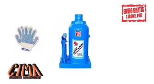 crique gato hidráulico botella 15tn dariodelfabro industrial