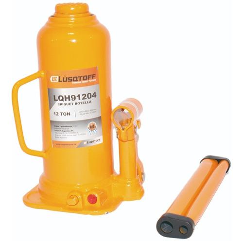 criquet gato hidraulico botella 12 toneladas reforz lusqtoff