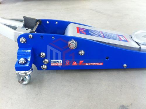 criquet hidraulico carrito bremen 1.5 toneladas perfil bajo auto cod. 6649 dgm