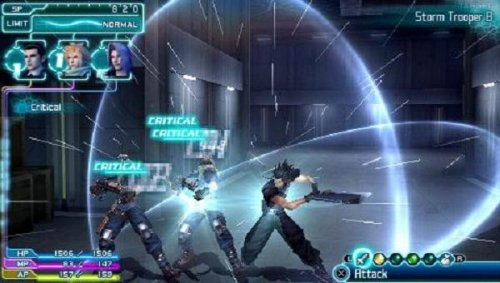 crisis core: final fantasy vii - psp de sony