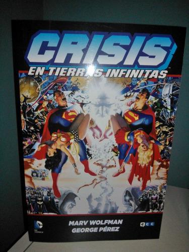crisis en tierras infinitas libro en castellano tapa blanda