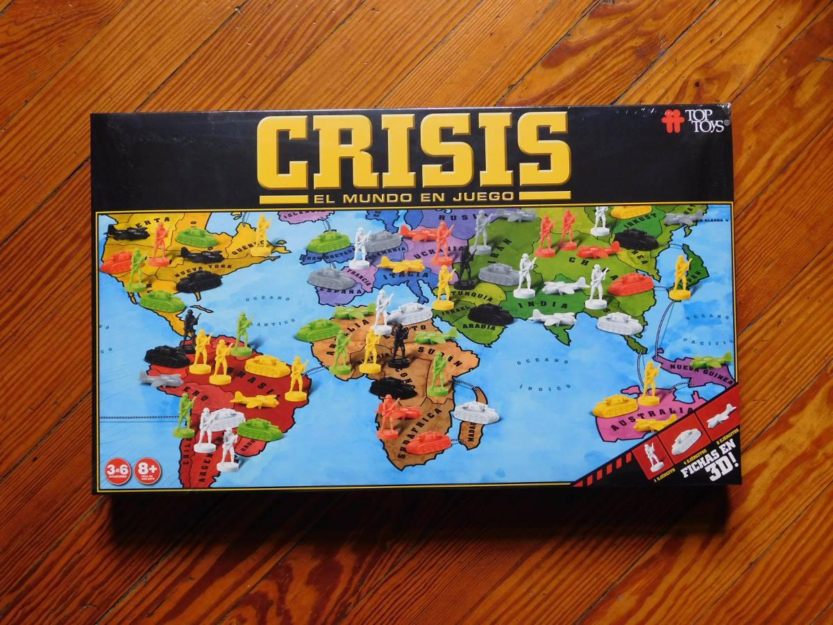 Crisis Juego De Mesa Estrategia 550 00 En Mercado Libre