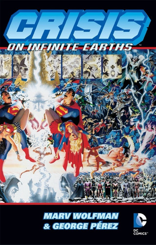 crisis on infinite earths tpb - dc comics - robot negro