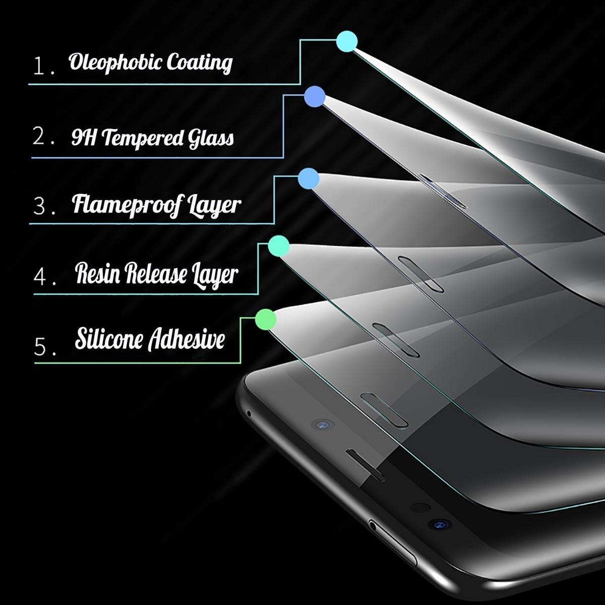 Cristal 3d Templado Protectores Mica 3d Samsung S9, S9plus