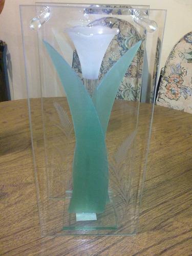 cristal cortado 100% a mano artesanal y centros de mesa