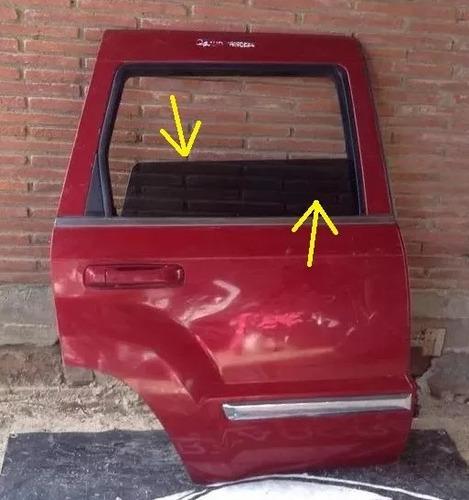 cristal de puerta trasera derecha de jeep grand cherokee