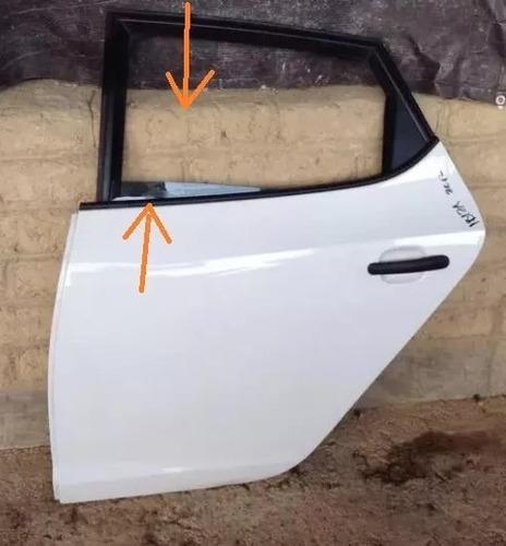cristal de puerta trasera izquierda de seat ibiza