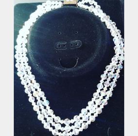 159ad7cb8afd Collar De Cristal De Roca Negro Con Broche en Mercado Libre Argentina
