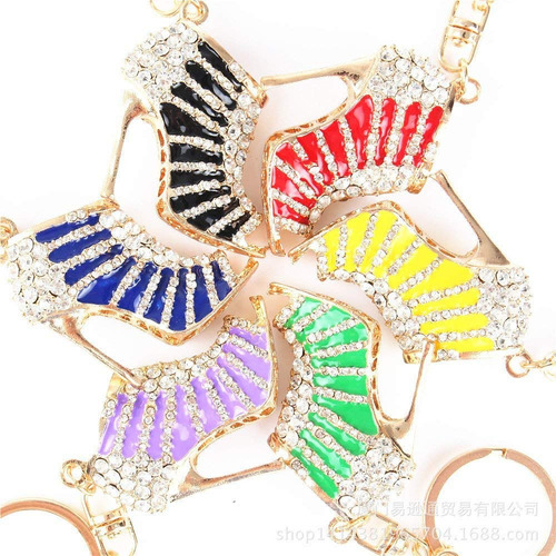 cristal diamante de imitación diamante oro entonado alto ta