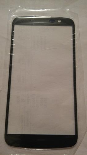 cristal digitalizador lg q10 original b/n +kit+cable+uv
