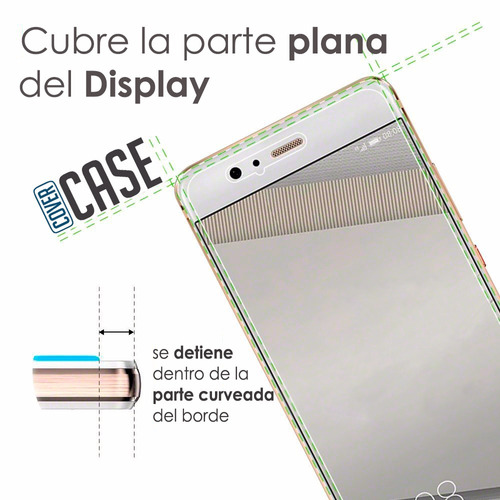 cristal glass templado display htc google pixel / pixel xl