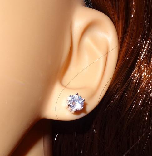 cristal joyas aros plata