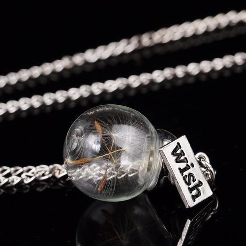 cristal plata collar