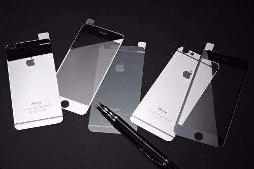 cristal templado espejo iphone 6 - 2x1