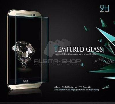 cristal templado  htc m8