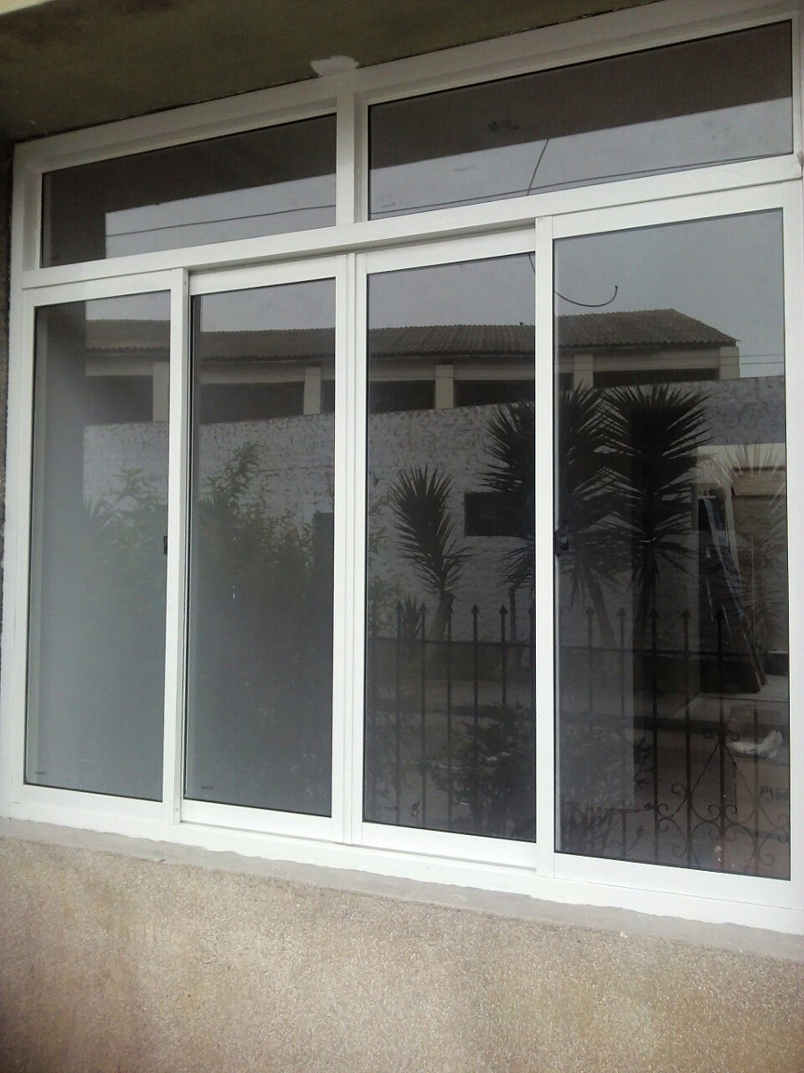 cristal templado ventanas de vidrio mamparas de aluminio