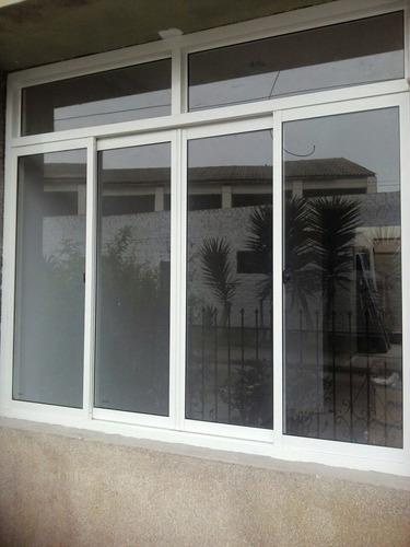 cristal templado ventanas de vidrio mamparas de aluminio a
