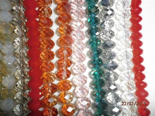 cristal tira de piedra 10 mm mas de 100 colores