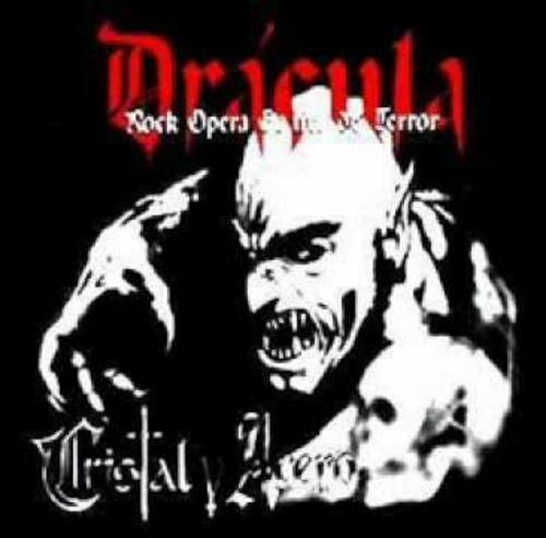 cristal y acero - cd dracula rock opera gotica de terror