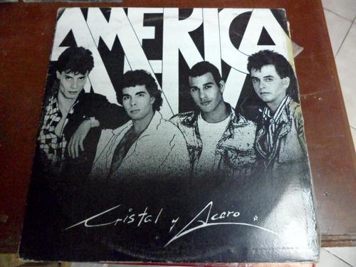 cristal y acero vinyl l.p. de 12 america envio incluido