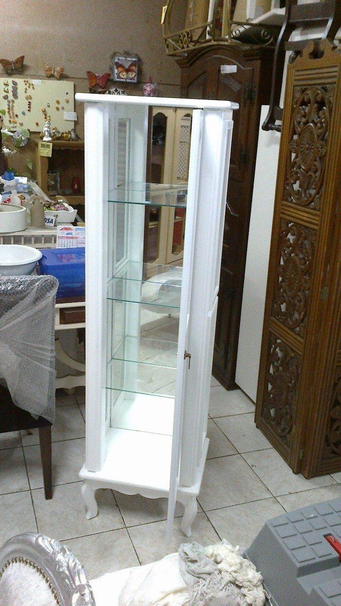 Cristaleira 1 Porta Mdf Laqueada Ou Crua R 500 00 Em