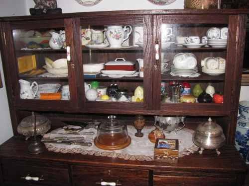 Armarios Antigos : Cristaleira armario de cozinha antigo r  em