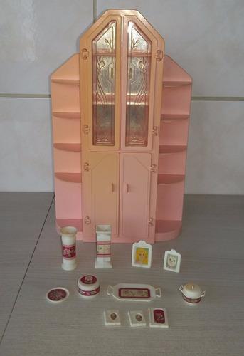 cristaleira da barbie anos 80