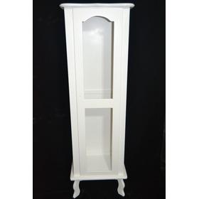 Cristaleira Mdf 1 Porta Pintura Branca