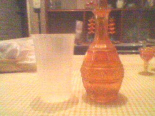 ´cristalería antigua cárnival glass