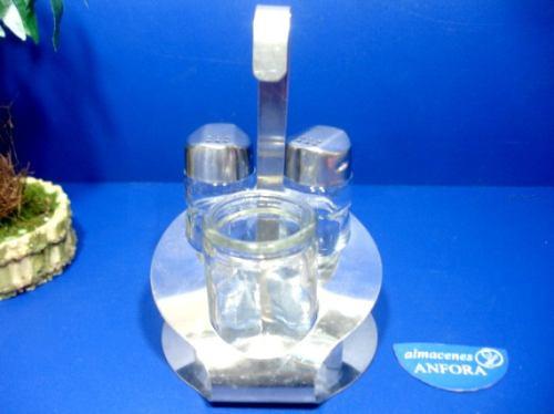 cristaleria juego de salero y pimentero mod.: zd-011